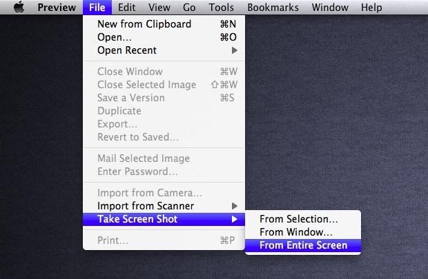 How to Take a Screenshot on a MacBook and Window 7?