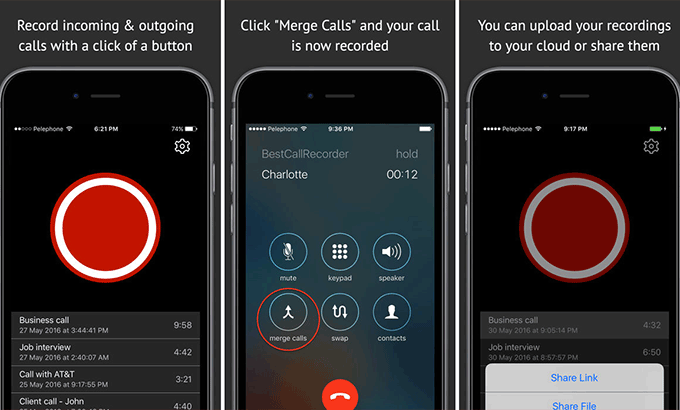 How to Record a Phone Call from iphone with or without App