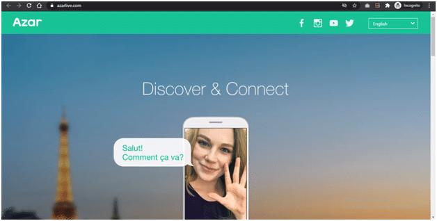 Azar video chat app for stranger