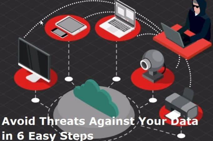Avoid Threats Against Your Data in 6 Easy Steps